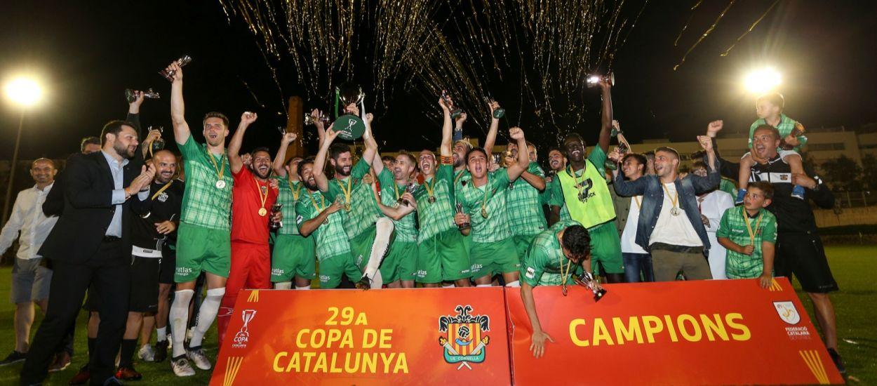 El Cornellà fa història i conquereix la Copa Catalunya Absoluta