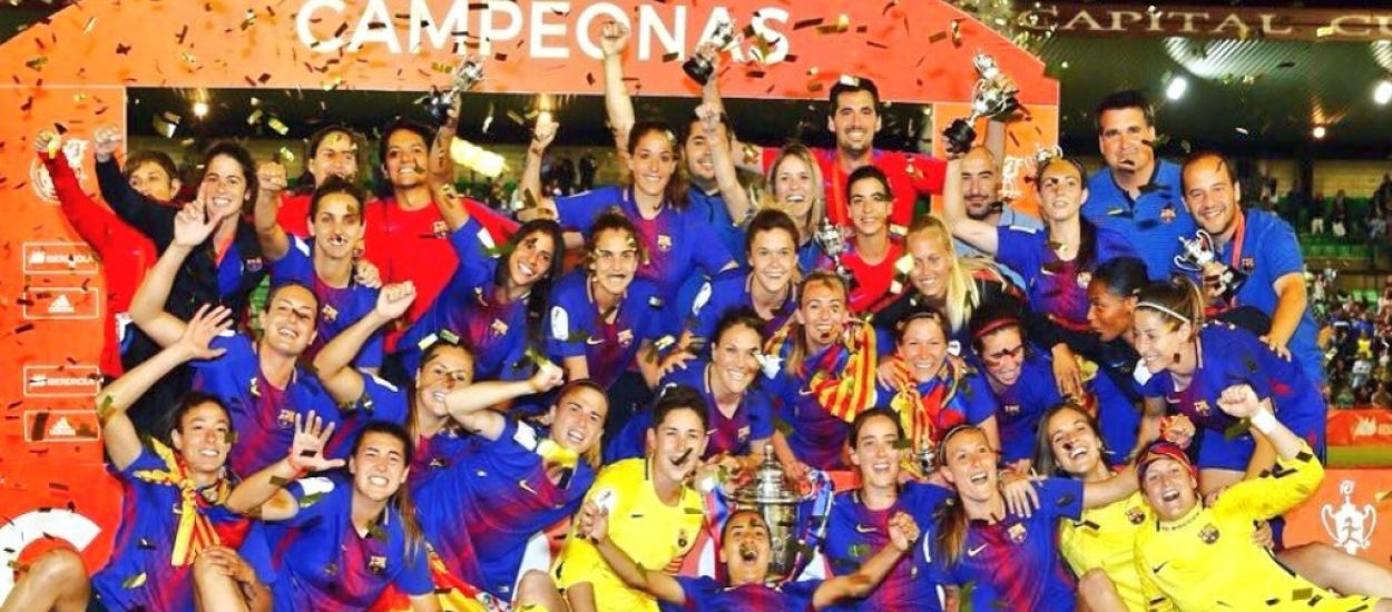 El Barça femení revalida la Copa de la Reina