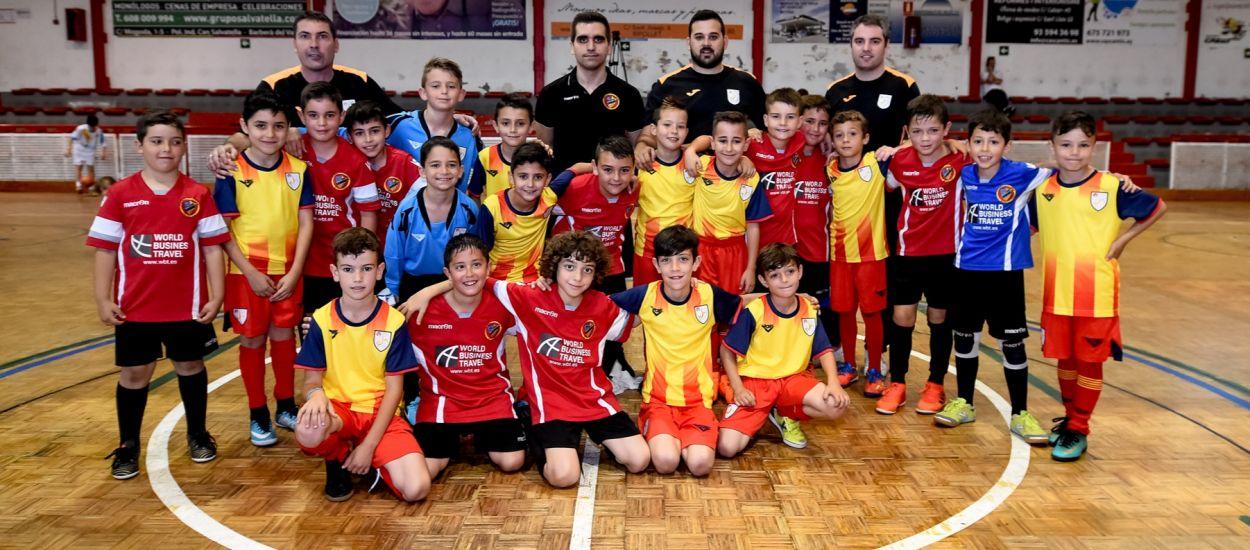 Victòria de la Selecció Catalana Prebenjamí de Futbol Sala davant del FS Ripollet