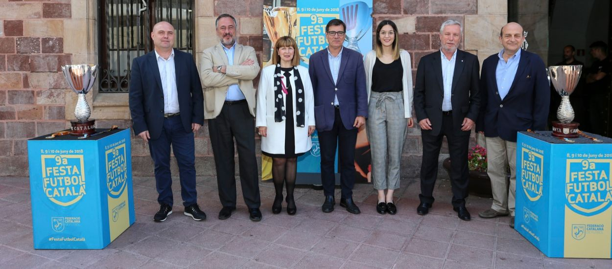 Presentada la 9a Festa del Futbol Català