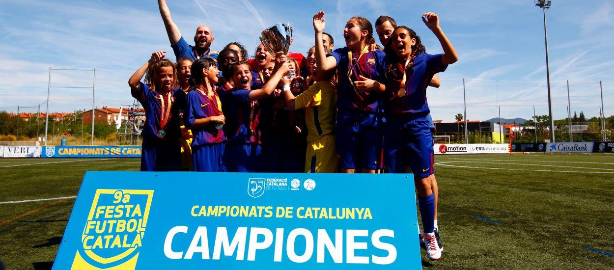 Triomf treballat d'un Barça efectiu davant el Femení Manu Lanzarote
