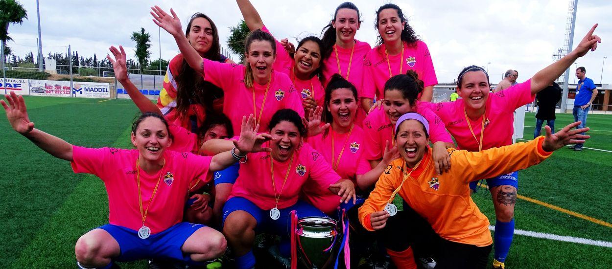 L'Icomar, campiones de la Copa Tarragona F-7