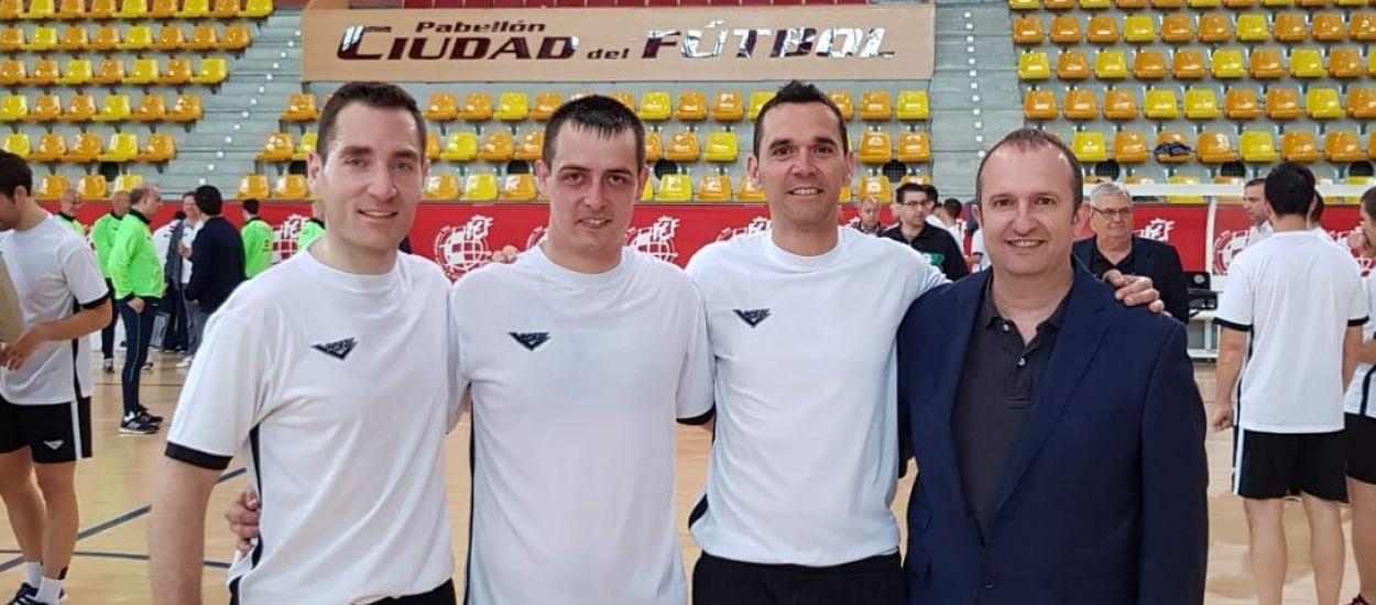 Tres àrbitres del CTAFS opten a l'ascens a 2a Divisió Nacional de Futbol Sala