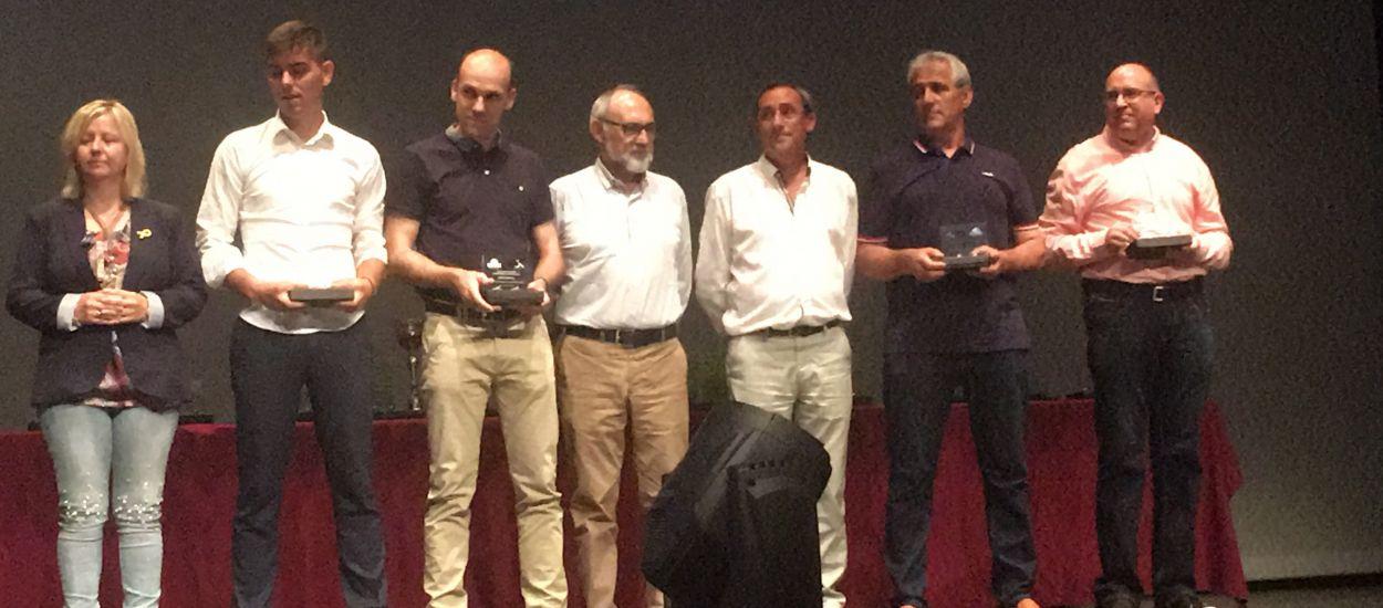 La delegació de Terres de l'Ebre de l'FCF, guardonada a la gala de 'Tots els Gols'