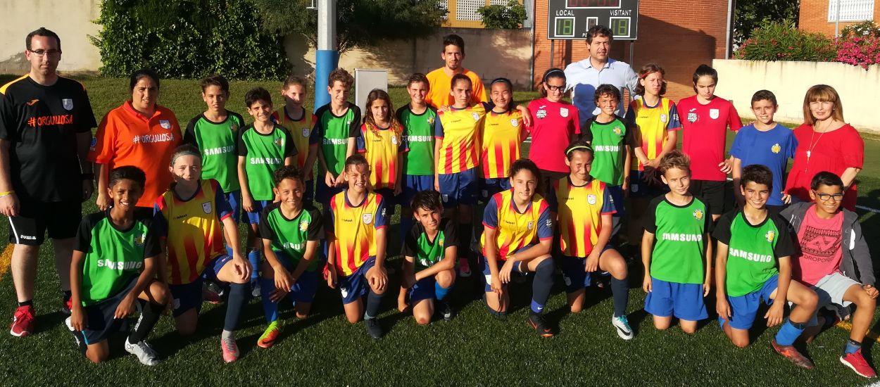 Partit amistós de la selecció sub 12 femenina del Baix Llobregat