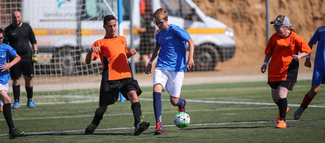 Més de 550 esportistes participaran a la segona edició de l''Enfutbola't. Futbol per a tothom'