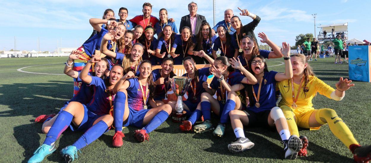 Un efectiu Barça es proclama campió de Catalunya per quart any consecutiu