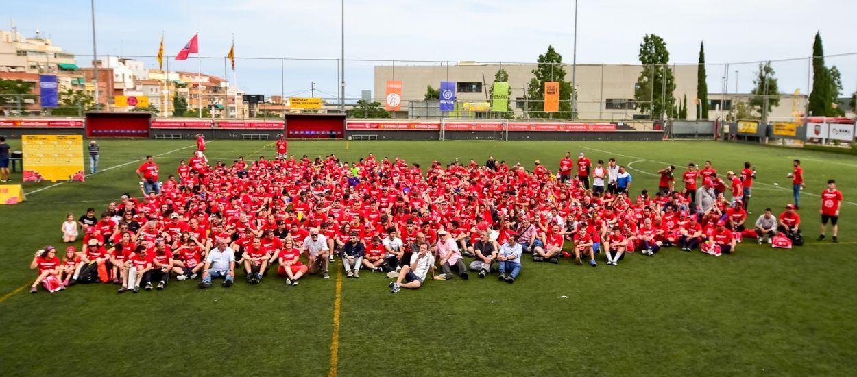 L'esportivitat i el bon ambient, protagonistes de la 2a edició de l''Enfutbola't. Futbol per a tothom'