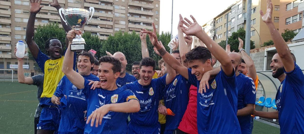 El filial de la Unificació Bellvitge s'emporta la Copa Barcelonès
