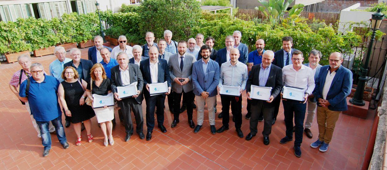 La UFEC premia l'FCF amb el Segell d'Entitat Ètica Esportiva