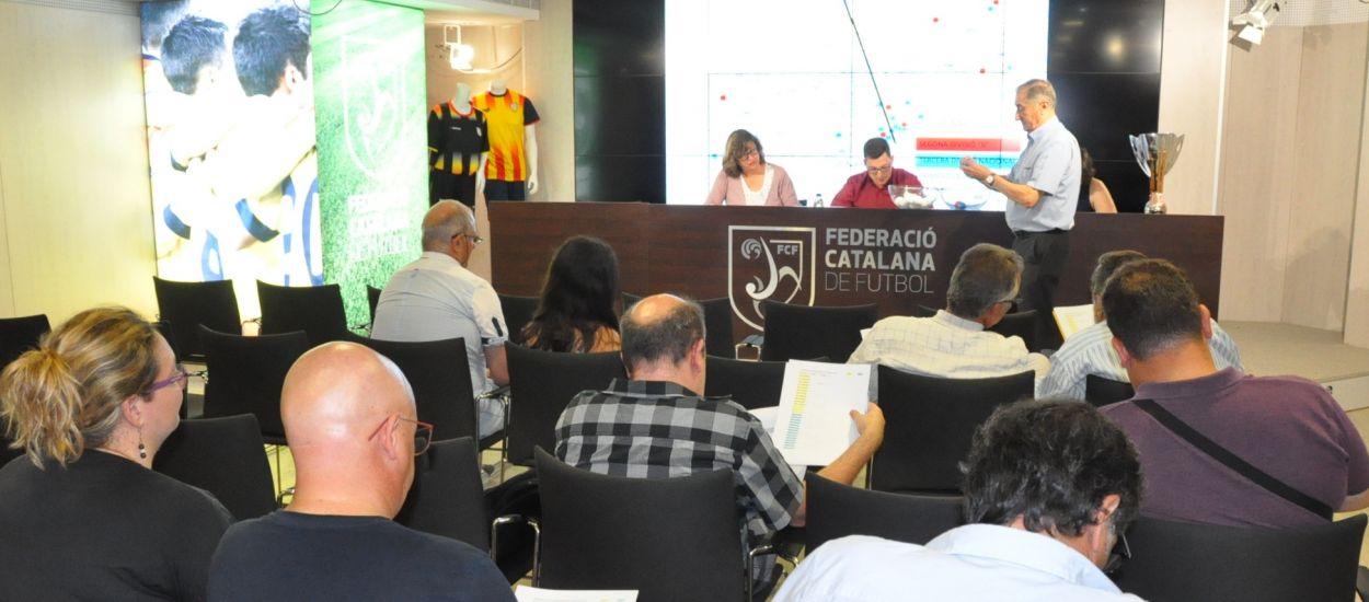 Sortejades les tres primeres eliminatòries de la Copa Catalunya Absoluta