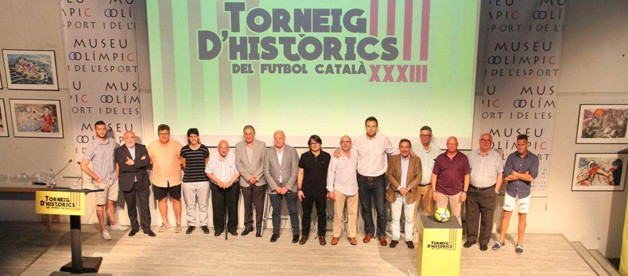 L'FCF assisteix a la presentació de la 33a edició del Torneig d'Històrics