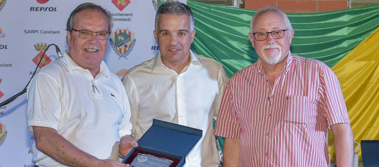 L'FCF, guardonada a la Nit del Futbol del CE Constantí