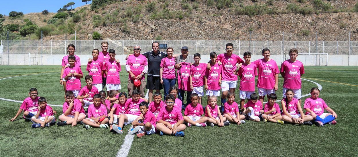 El respecte i treball en equip regnen a la 2a edició del Campus Solidari de Futbol Behappy