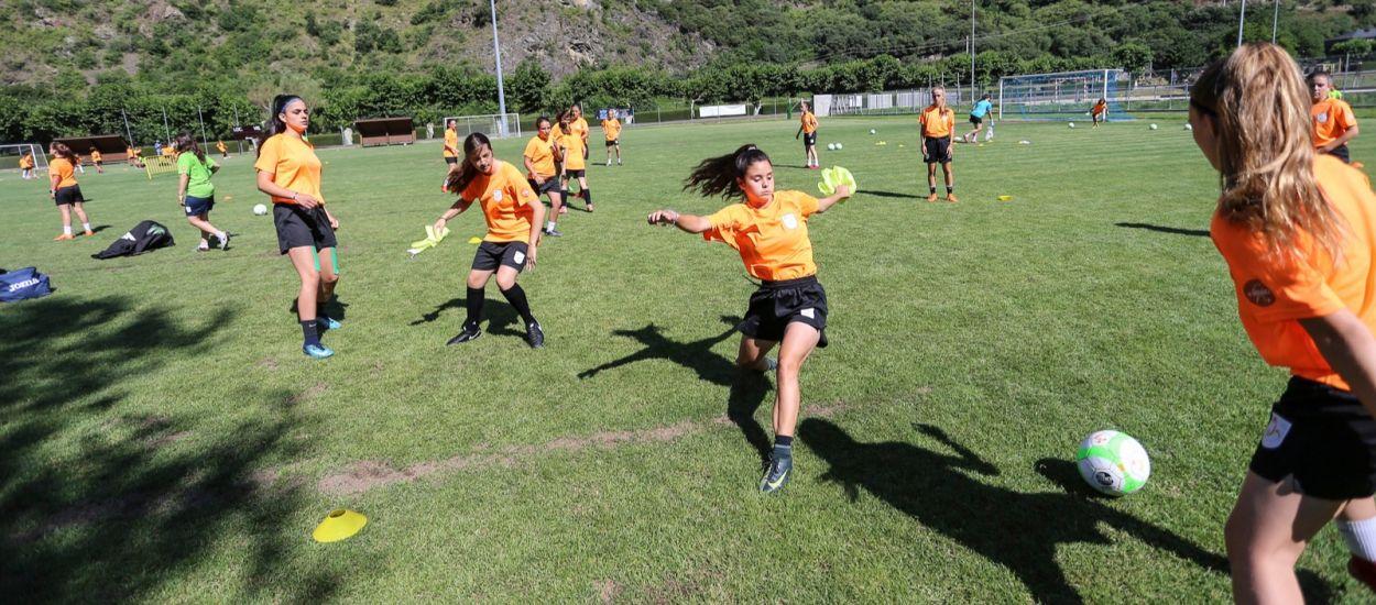 Nova setmana de futbol femení a Rialp