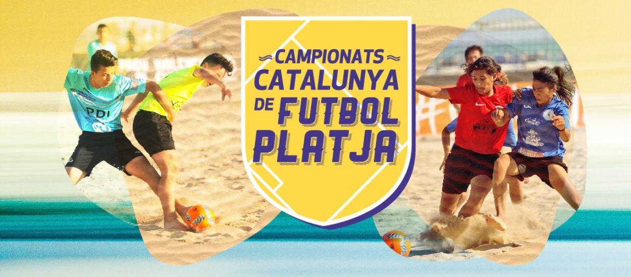 Els Campionats de Catalunya de Futbol Platja s'inicien a Torredembarra