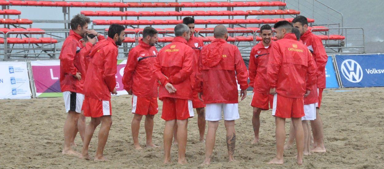 La Selecció Sènior masculina de futbol platja ultima els darrers detalls