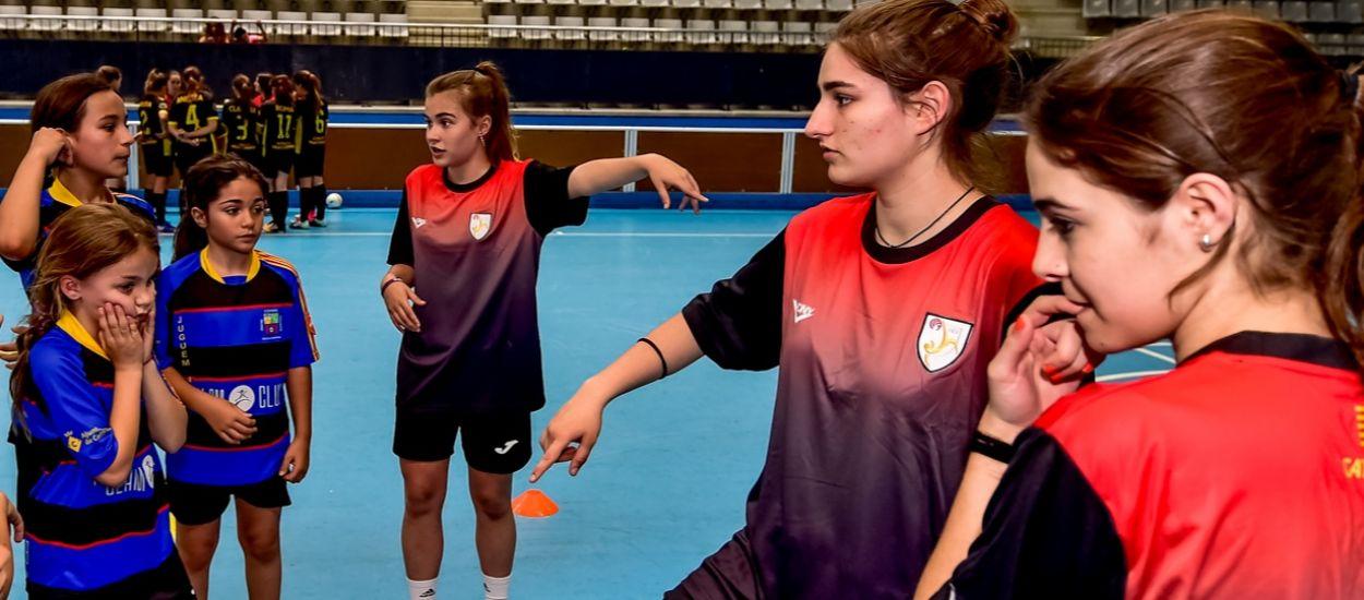 Dues catalanes convocades amb la Selecció sub 18 femenina espanyola de Futbol Sala