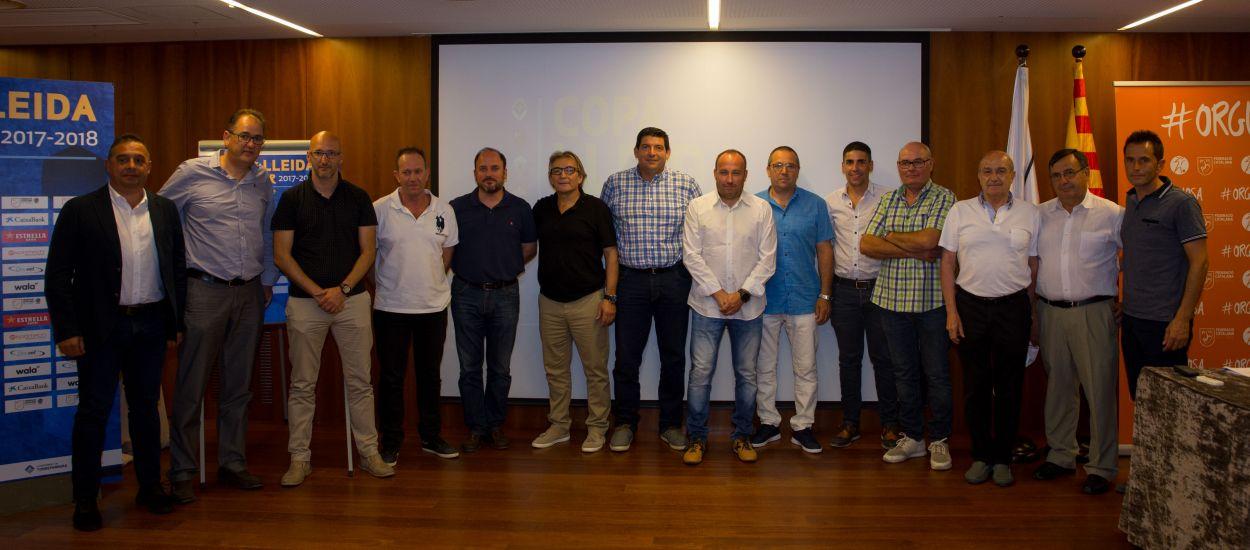 Presentada la quarta edició de la Copa Lleida Amateur