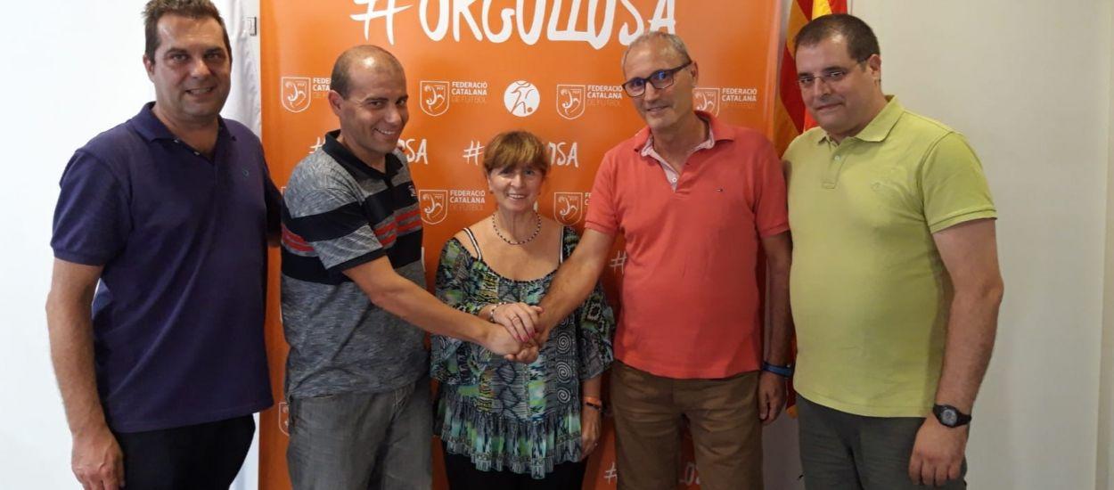 Relleu a la subdelegació del CTA al Baix Llobregat
