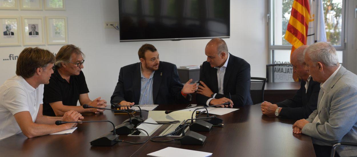 Acord entre l'FCF i l'Ajuntament de Rialp per continuar celebrant el Campus de Futbol Femení