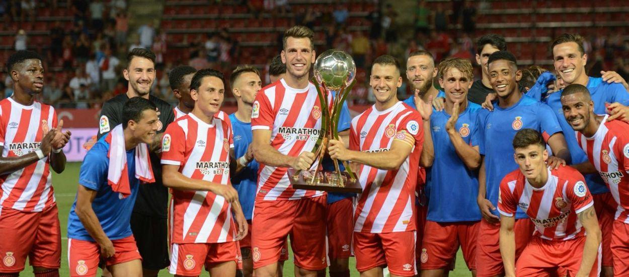 El Girona s'exhibeix i s'endú el Trofeu Costa Brava