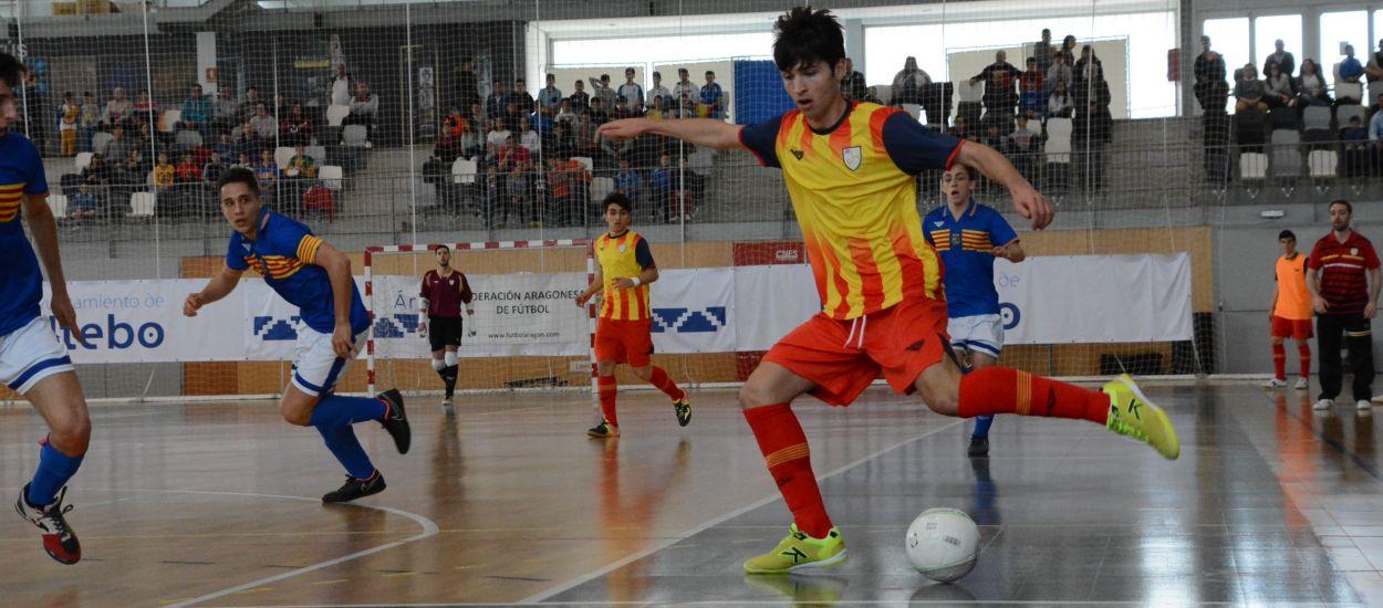 Representació catalana a les Seleccions sub 18 masculina i femenina espanyola de Futbol Sala