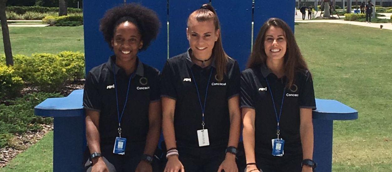 L'àrbitra Matilde Esteves participa al Campionat sub 15 femení de la CONCACAF