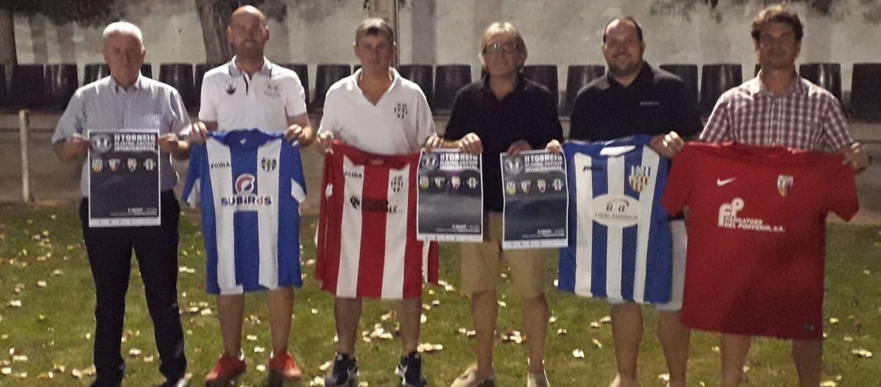 Presentada la 2a edició del Torneig Intercomarcal de Futbol Amateur