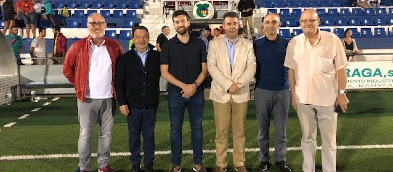 L'FCF assisteix a la 49a edició del Torneig de l'Estany de Banyoles