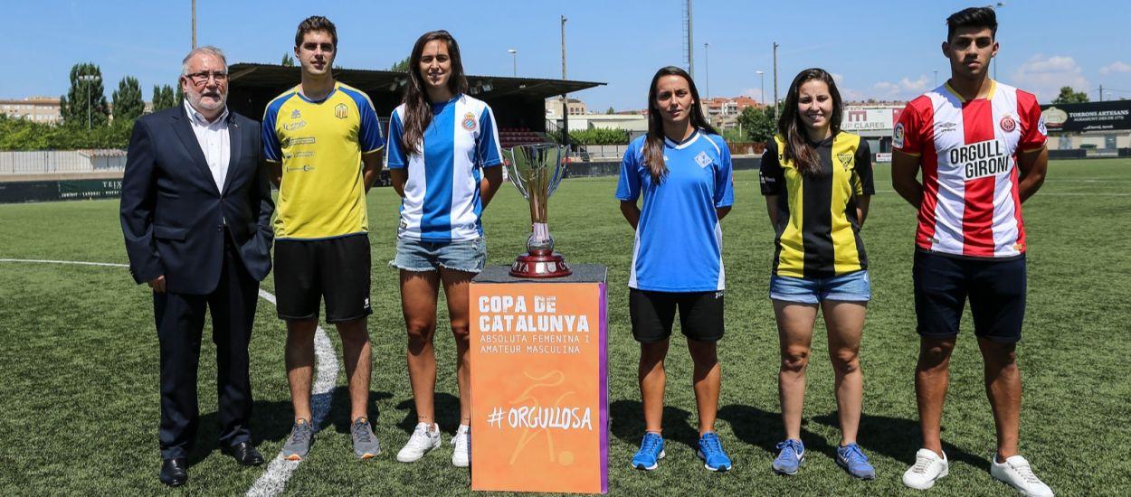 Els protagonistes de la Copa Catalunya Femenina i Amateur
