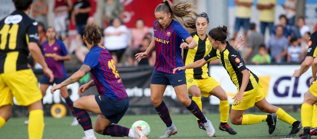 L'efectivitat del Barça doblega un Pardinyes valent