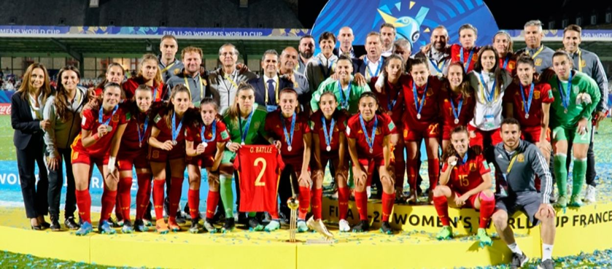 Set catalanes, subcampiones al Mundial sub 20 femení disputat a França