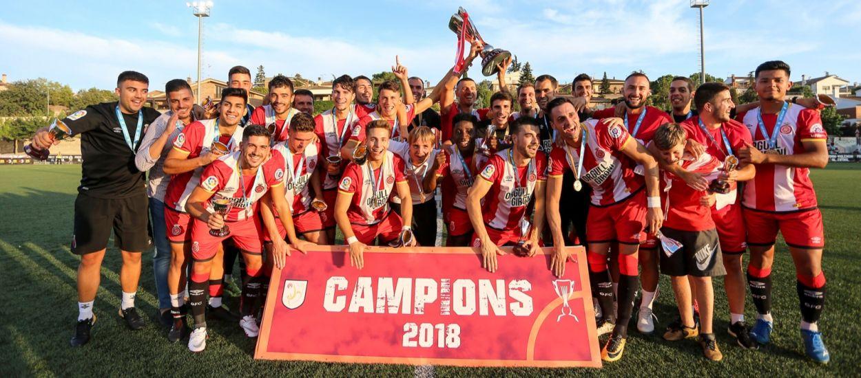 El Girona 'B' s'imposa a El Catllar i conquereix la Copa Catalunya Amateur