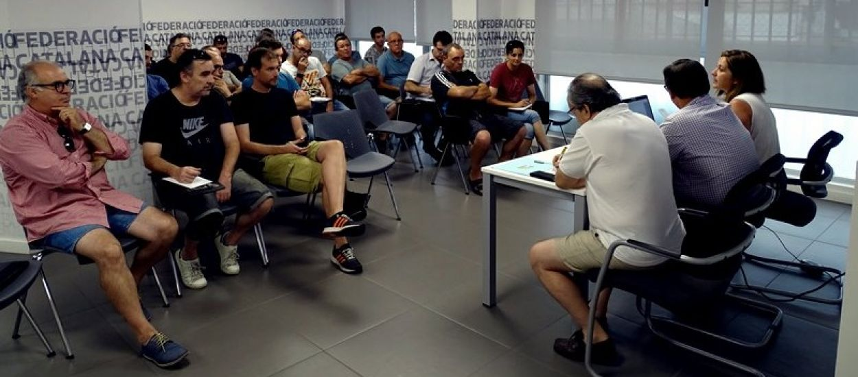 Reunió amb els clubs tarragonins de Quarta Catalana