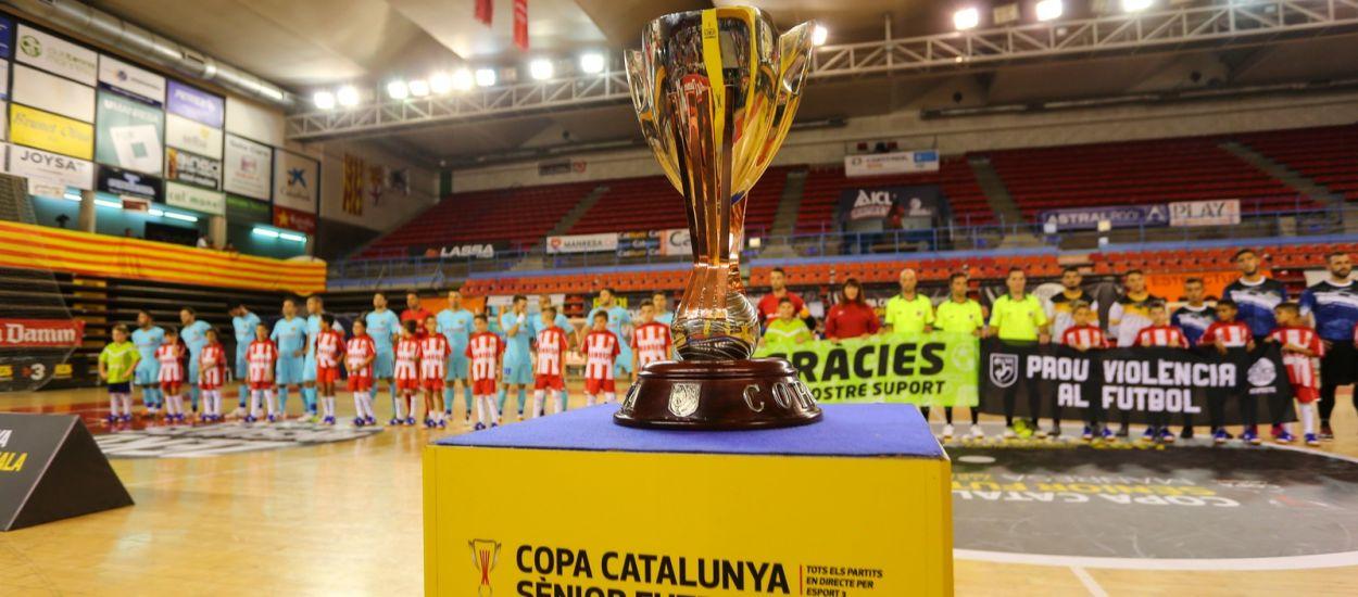 Els equips que s'estrenen a la Fase Final de la Copa Catalunya Sènior de Futbol Sala