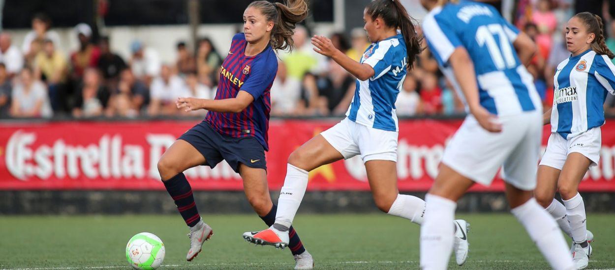 El futbol femení obre la lliga de Primera i Segona Divisió