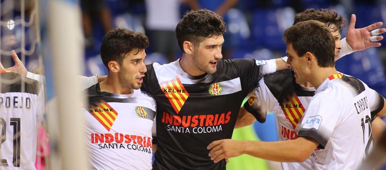 L'Industrias Santa Coloma, primer finalista de la Copa Catalunya