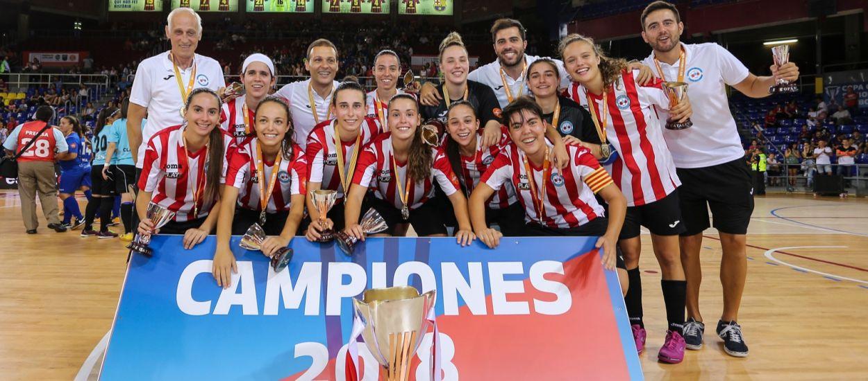 El Penya Esplugues revalida la Copa Catalunya per tercera vegada consecutiva