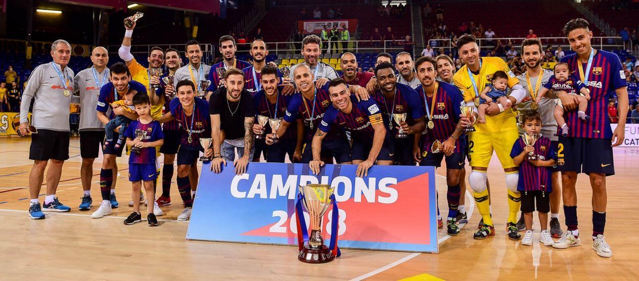 El Barça Lassa aixeca la sisena Copa Catalunya consecutiva