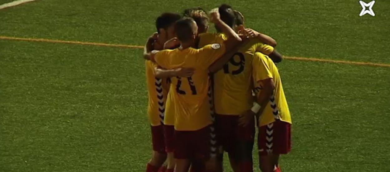 Resum i gols de la jornada 4 de Tercera Divisió (Grup 5)