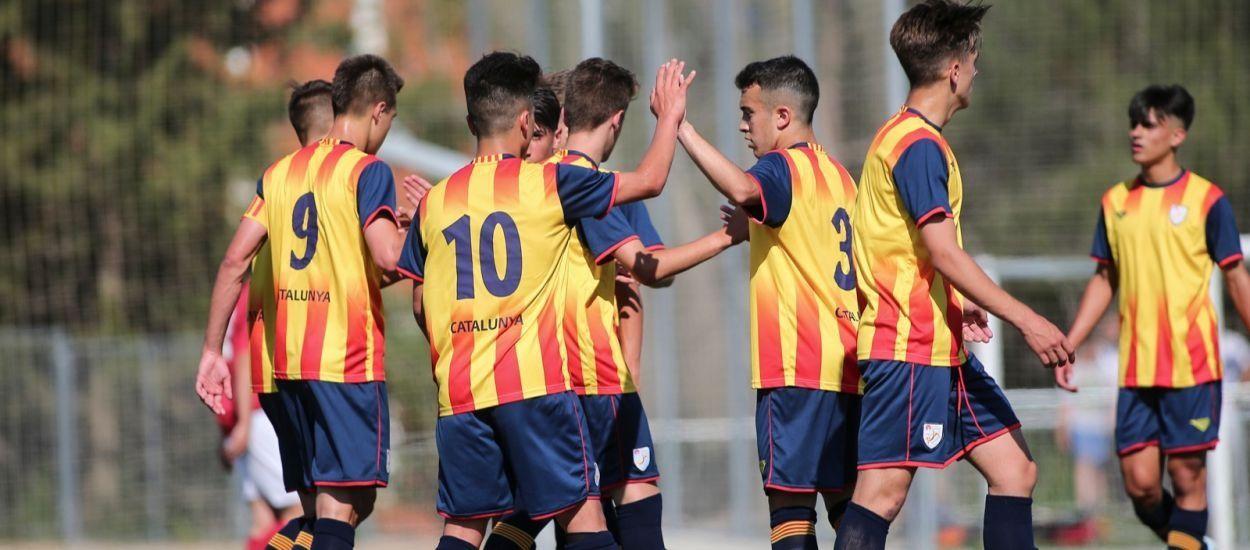 Cinco catalanes convocados con la Selección Española sub 17 masculina