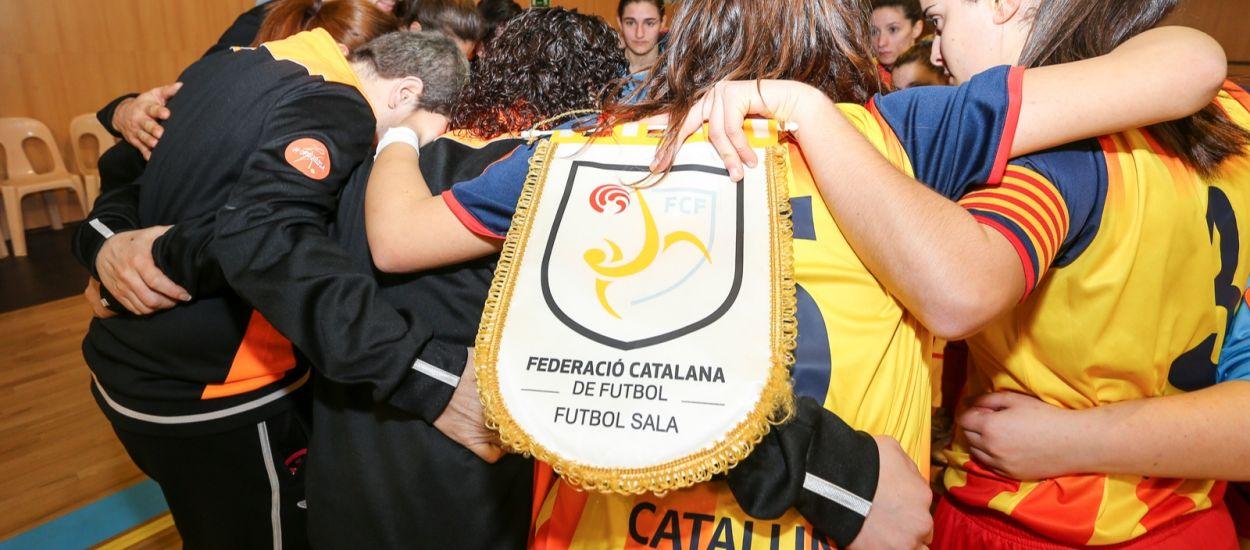 Catalunya estarà representada en totes les categories en els Campionats d'Espanya de futbol sala