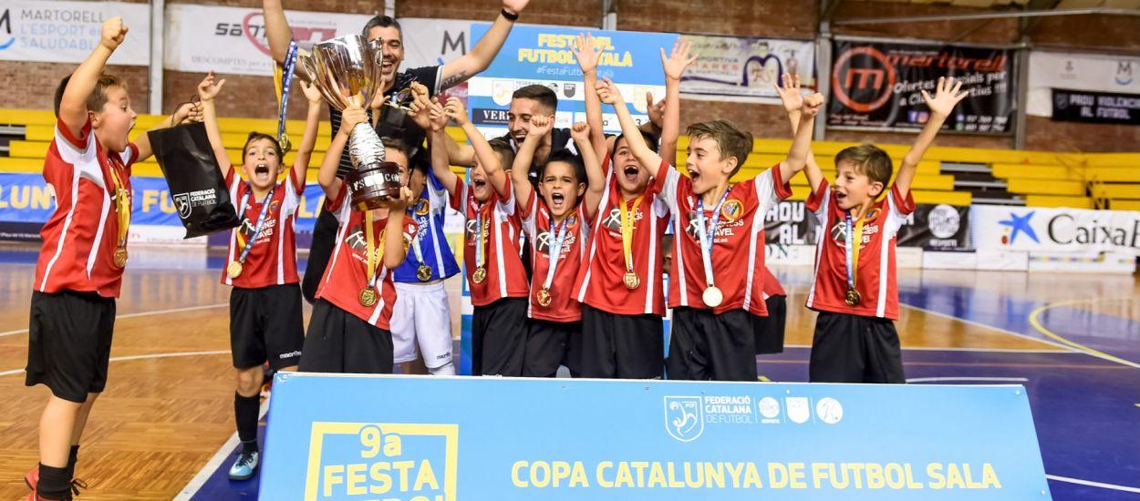 A punt de finalitzar el termini d'inscripció per la Copa Catalunya de Futbol Sala