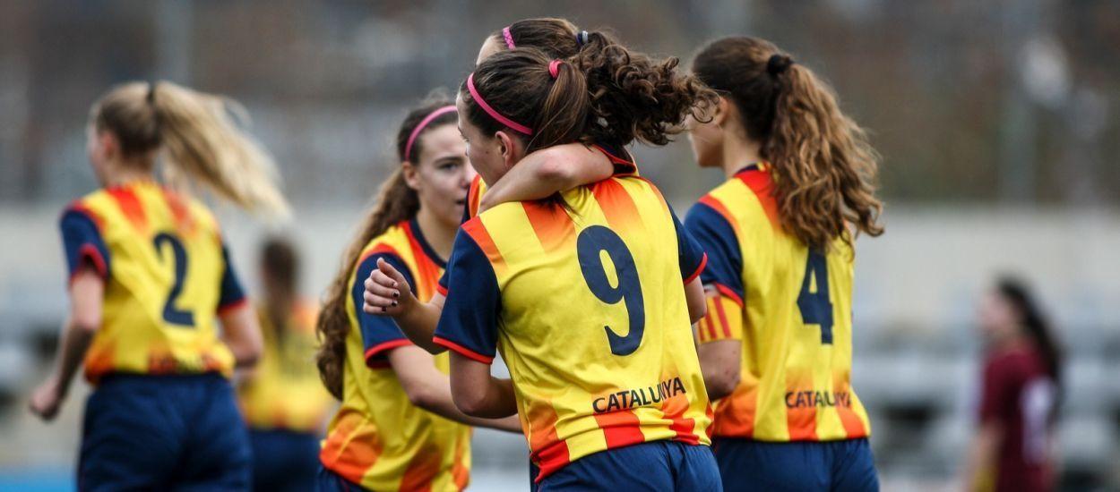 Tres catalanes convocades amb la Selecció Espanyola sub 16 femenina