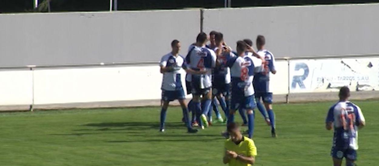 Resum i gols de la Jornada 9 de la Segona Divisió 'B' (Grup 3)