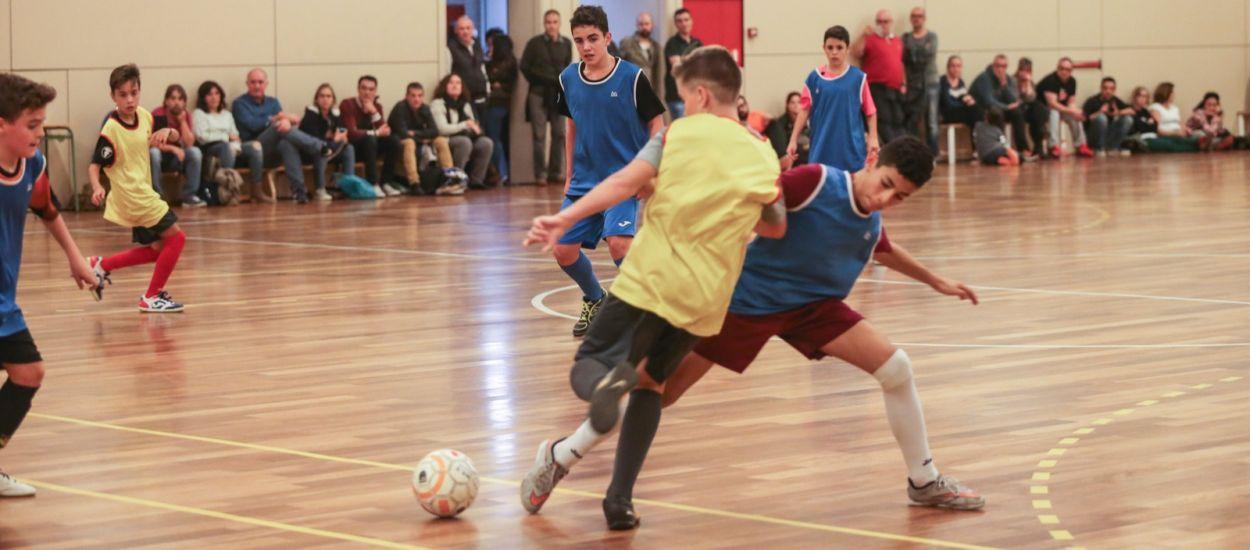 Les Seleccions Comarcals de Futbol Sala escalfen motors per començar els entrenaments