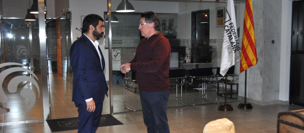La delegació del Vallès Oriental rep la visita del conseller El Homrani
