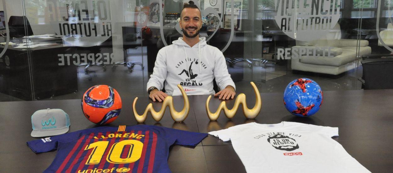 L'FCF rep la visita del millor jugador del món de futbol platja