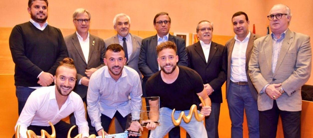 Torredembarra homenatja els seus jugadors de futbol platja